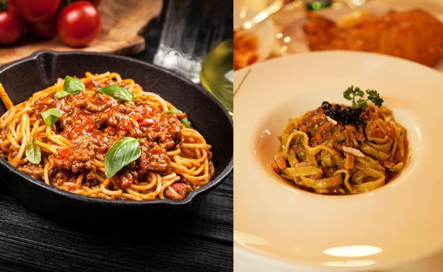 Spaghetti alla bolognese kontra tagliatelle Al Ragu