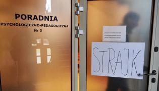 Strajk pedagogów w Gdańsku