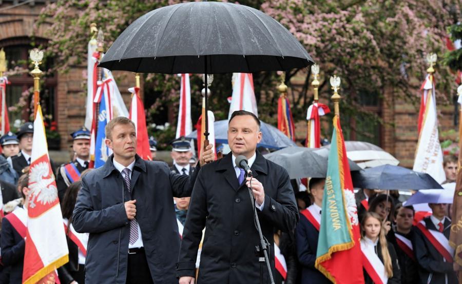 Prezydent Andrzej Duda w Myślenicach