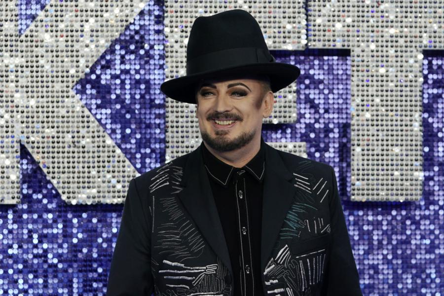 "Boy George na premierze filmu ""Rocketman"""