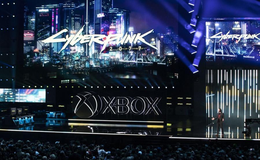 Prezentacja gry CyberPunk 2077 w Los Angeles