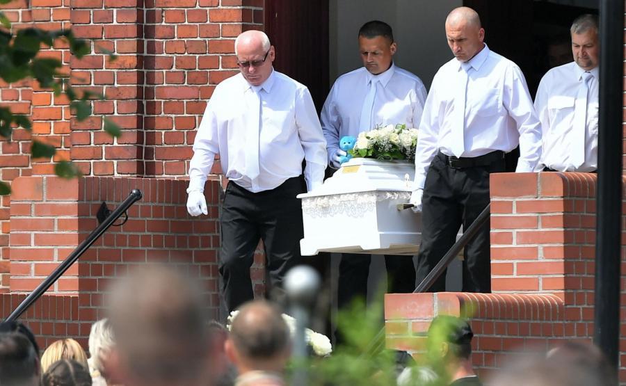 Pogrzeb odbył się w cmentarnej kaplicy
