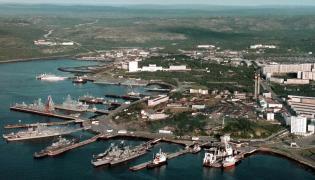 Baza marynarki wojennej w Siewieromorsku
