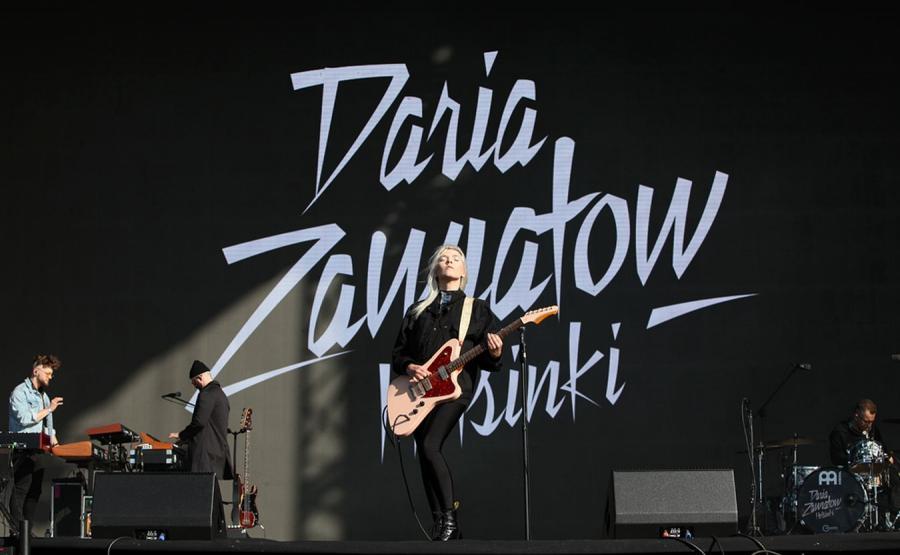 Daria Zawiałow na Open'er 2019