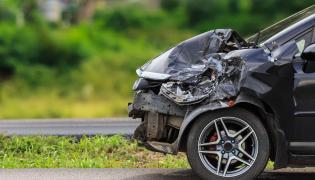 Wypadek samochód