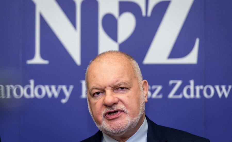 Prezes Narodowego Funduszu Zdrowia Andrzej Jacyna