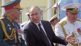 Putin w Petersburgu
