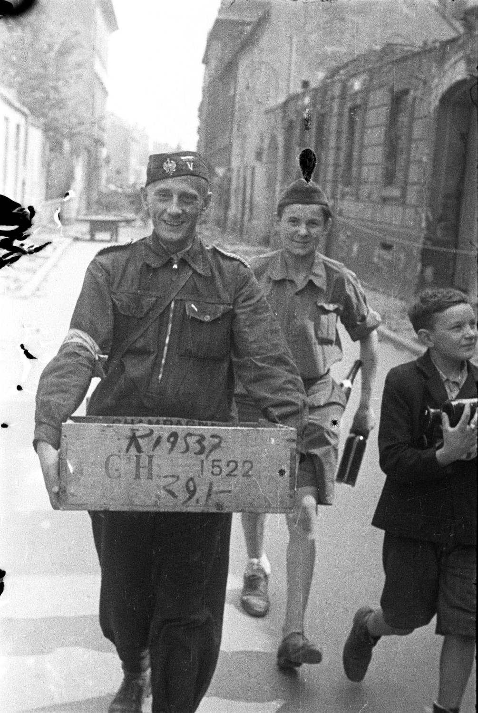 Powstanie Warszawskie/fot.Tadeusz Bukowski ps. Bończa