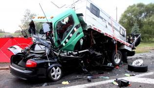 Kierowca Audi nie przeżył wypadku