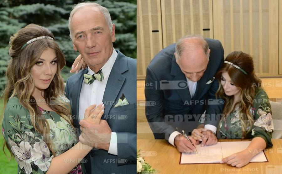 Karol Strasburger i Małgorzata Weremczuk