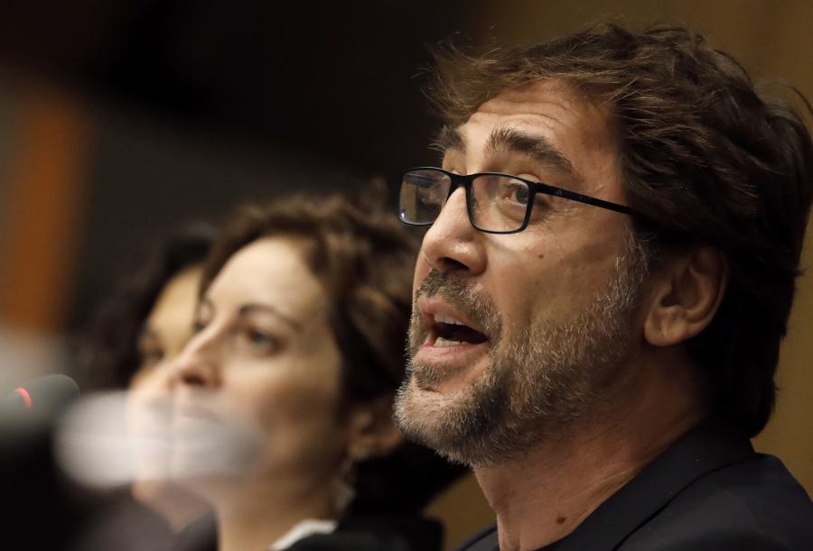 Javier Bardem w ONZ