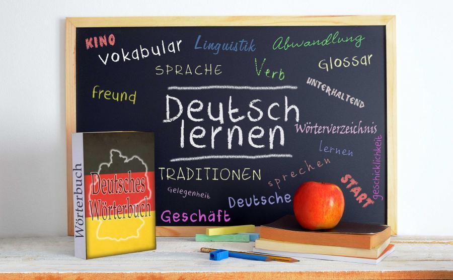 Lekcja języka niemieckiego