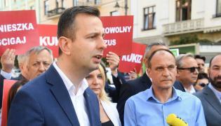 Władysław Kosiniak-Kamysz z Pawłem Kukizem