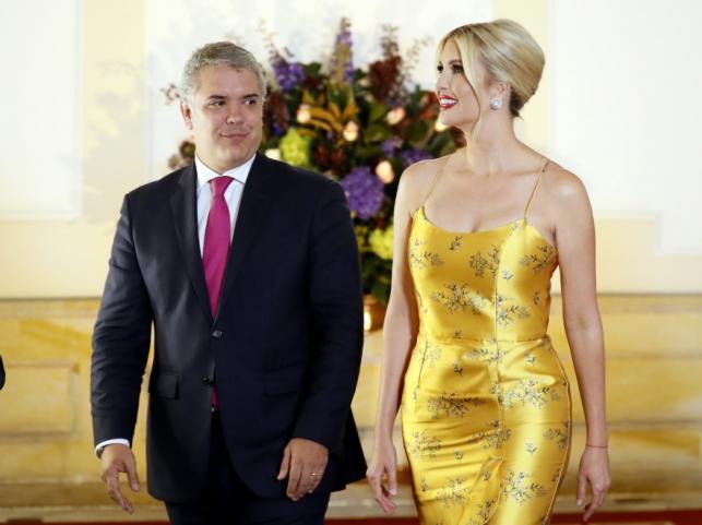 Ivan Duque i Ivanka Trump