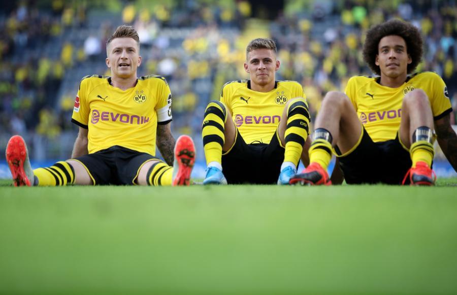 Marco Reus, Thorgan Hazard i Axel Witsel