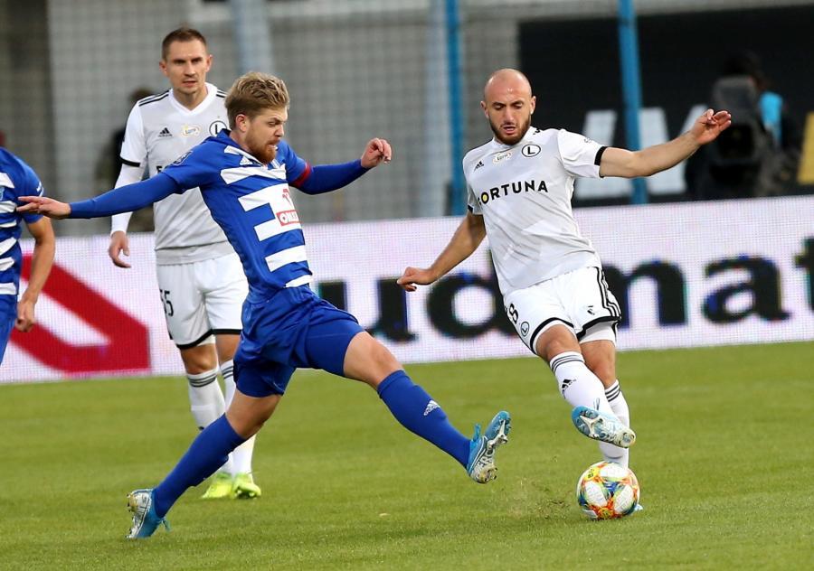 Legia Warszawa przegrała z Wisłą Płock