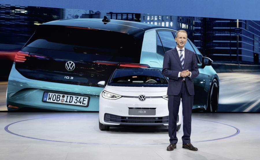 Dyrektor generalny Volkswagena Herbert Diess