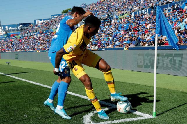 Junior Firpo i Damian Suarez