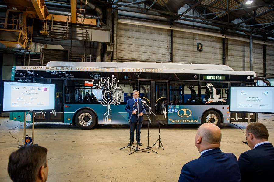 Autosan wyprodukował pierwszy własny autobus elektryczny