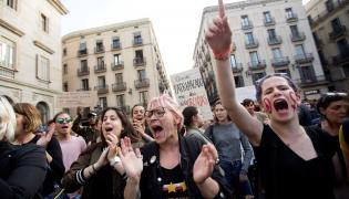 Protesty w Hiszpanii przeciw gwałtom zbiorowym w 2018 roku