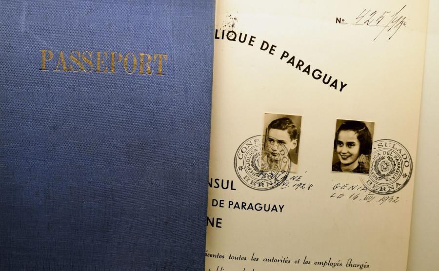 Wystawa Paszporty w Muzeum Polaków Ratujących Żydów podczas II wojny światowej