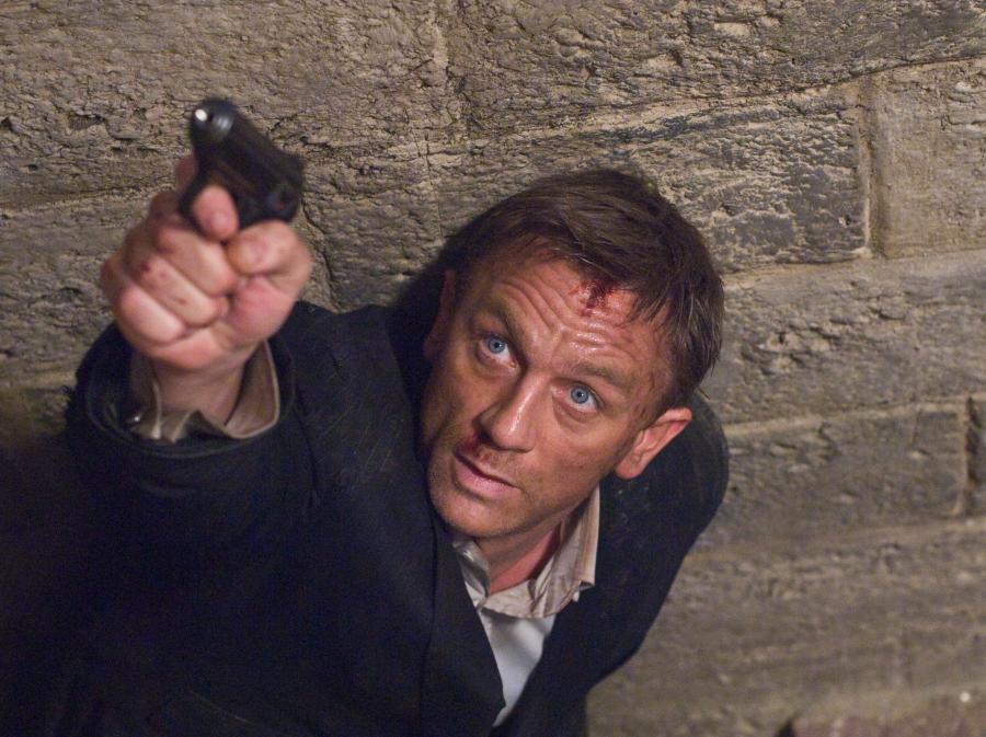 Daniel Craig jako ostatni z Bondów