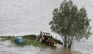 Rządowy sztab twierdzi, że nie ma zagrożenia powodziowego