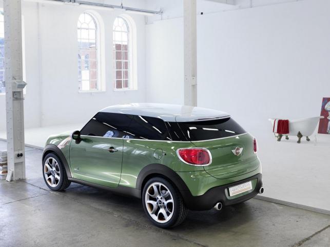 Podczas jubileuszowego salonu samochodowego w Detroit (styczeń 2011) Mini zaprezentuje trzydrzwiowy prototyp o nazwie paceman