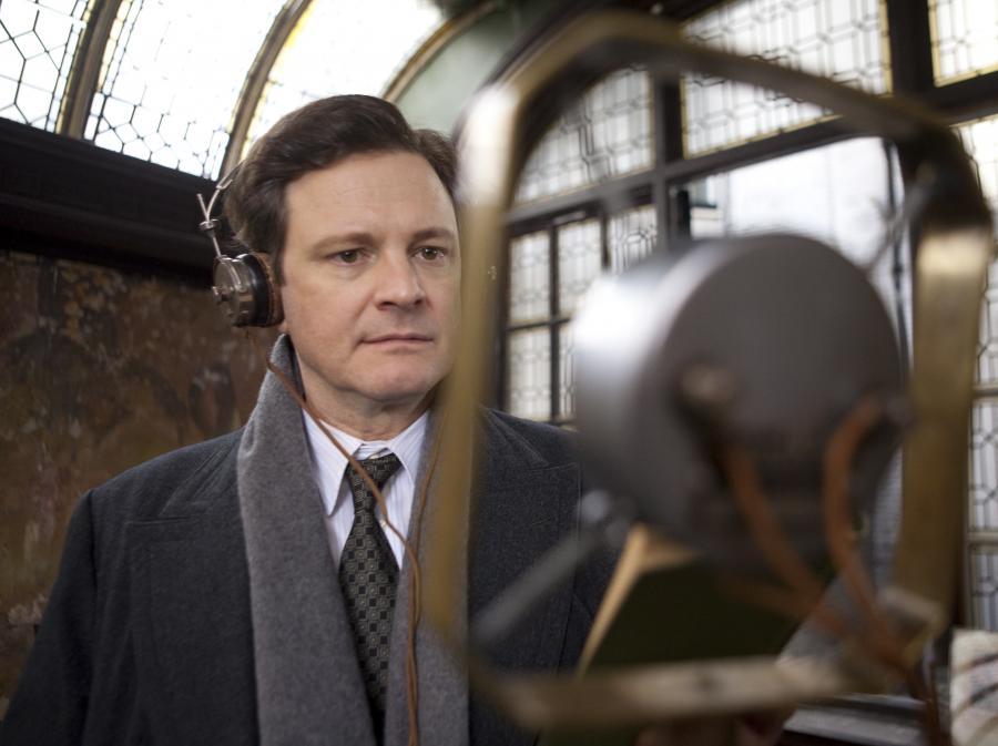 Colin Firth w oscarowej roli w \