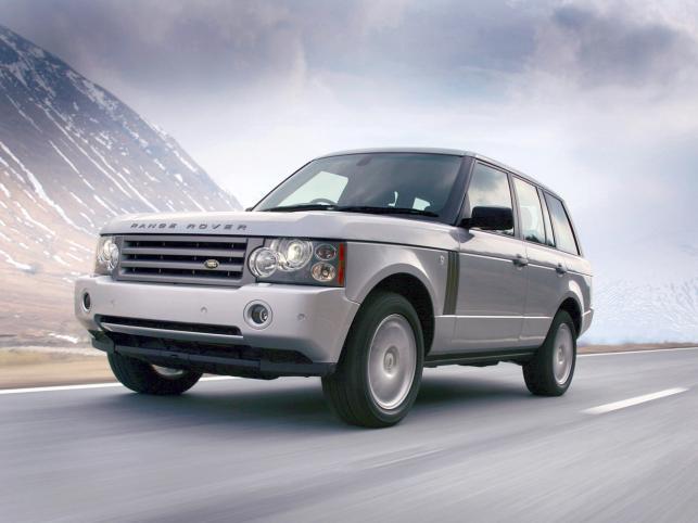 Range rover produkowany od 2002 roku