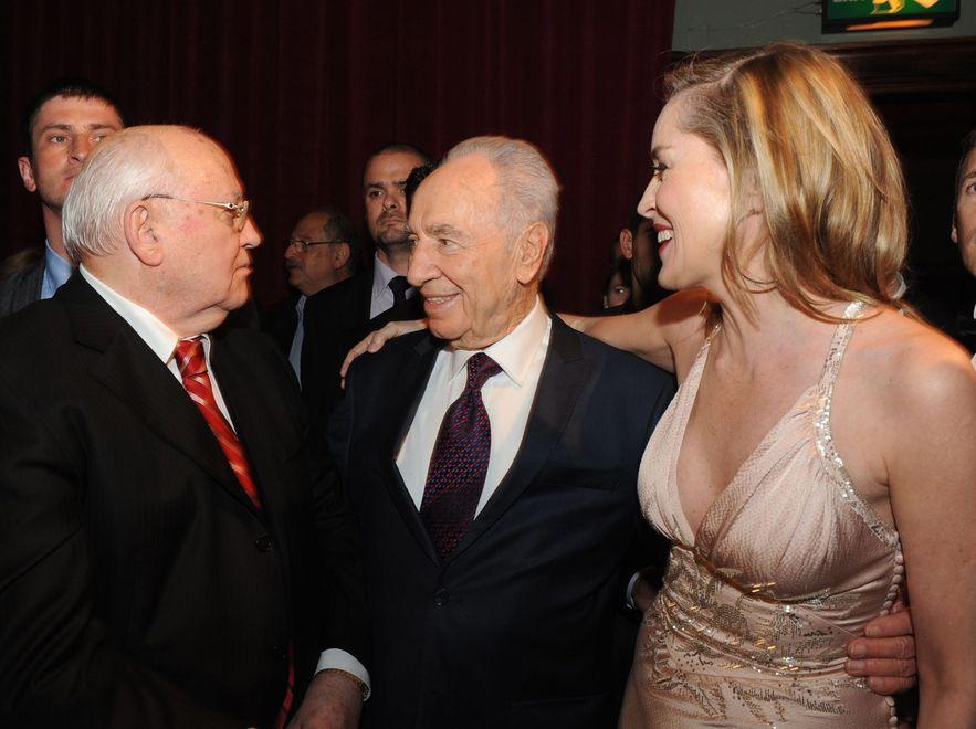 Stone była jednym z wielu hollywoodzkich gości na urodzinach Gorbaczowa