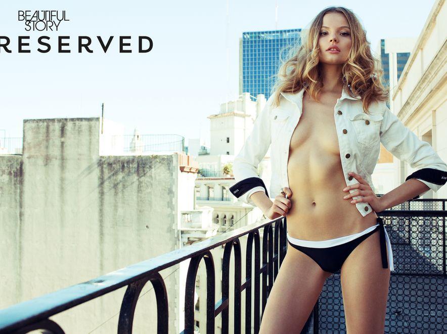 Twarzą ostatniej odsłony kampanii Beautiful Story Reserved była Magda Frąckowiak