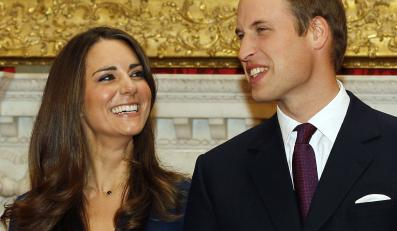 Kate Middleton i książe William
