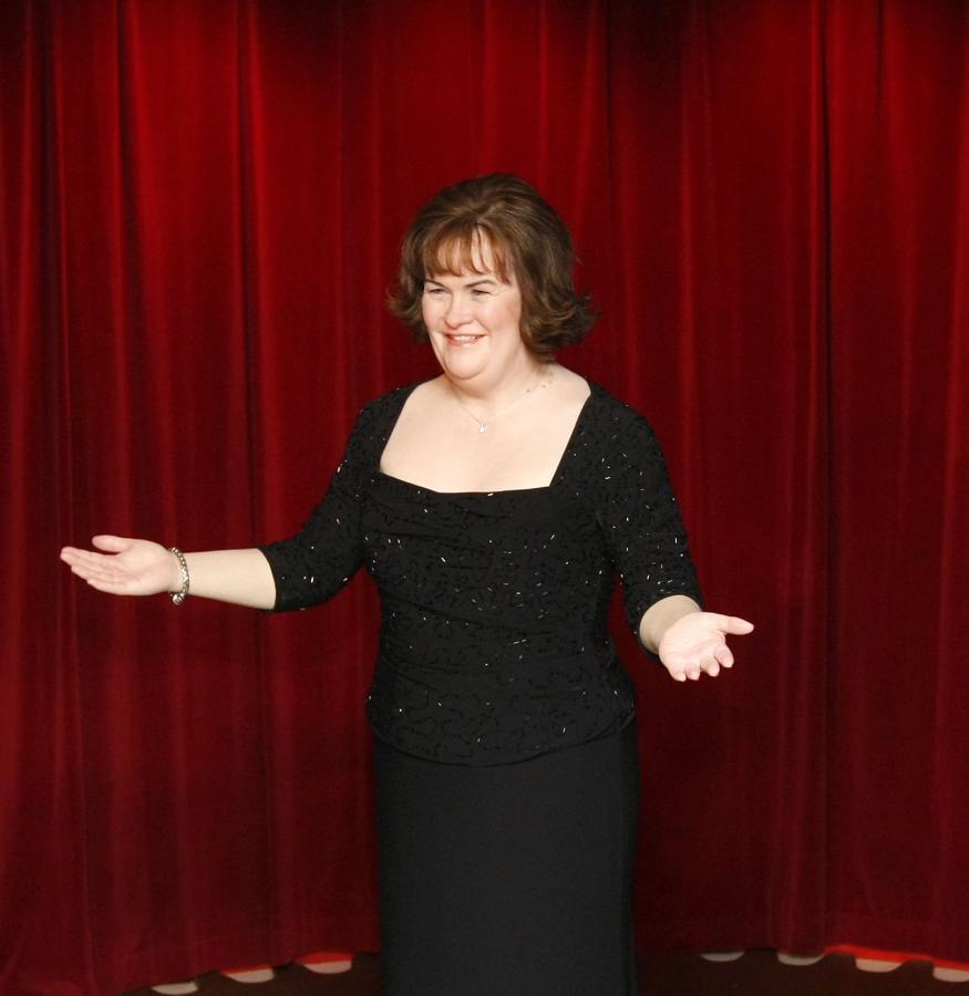 Susan Boyle z wosku