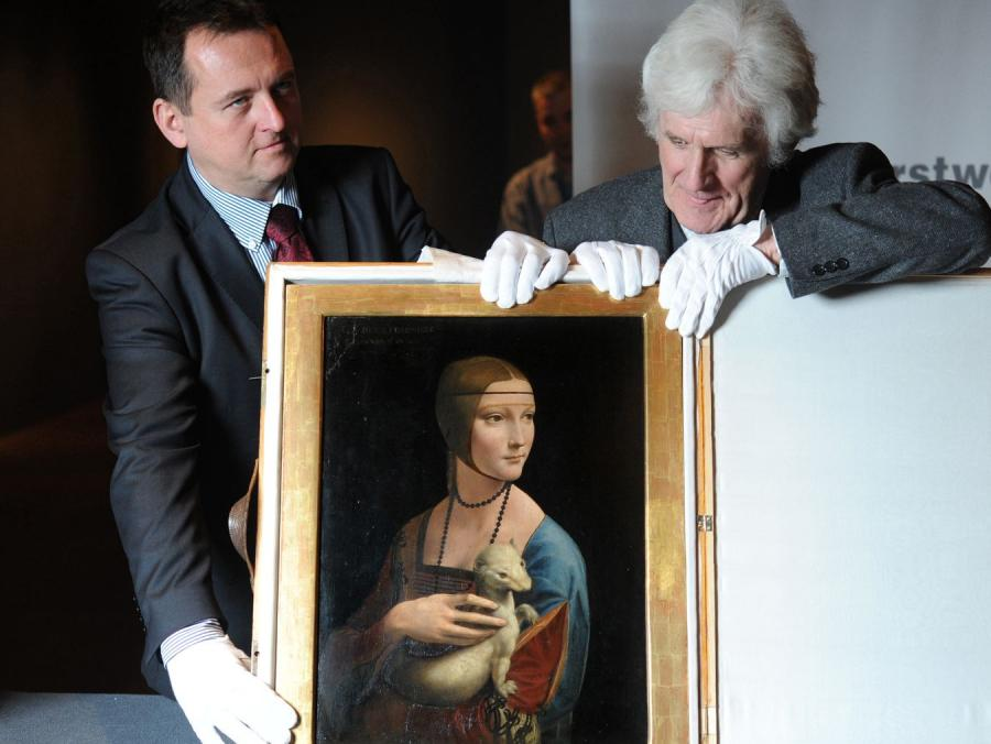 Słynny obraz Leonarda da Vinci