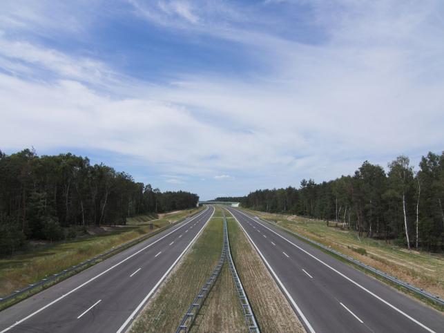 Przy budowie A1 doszło do konfliktu z polsko-irlandzkim wykonawcą autostrady