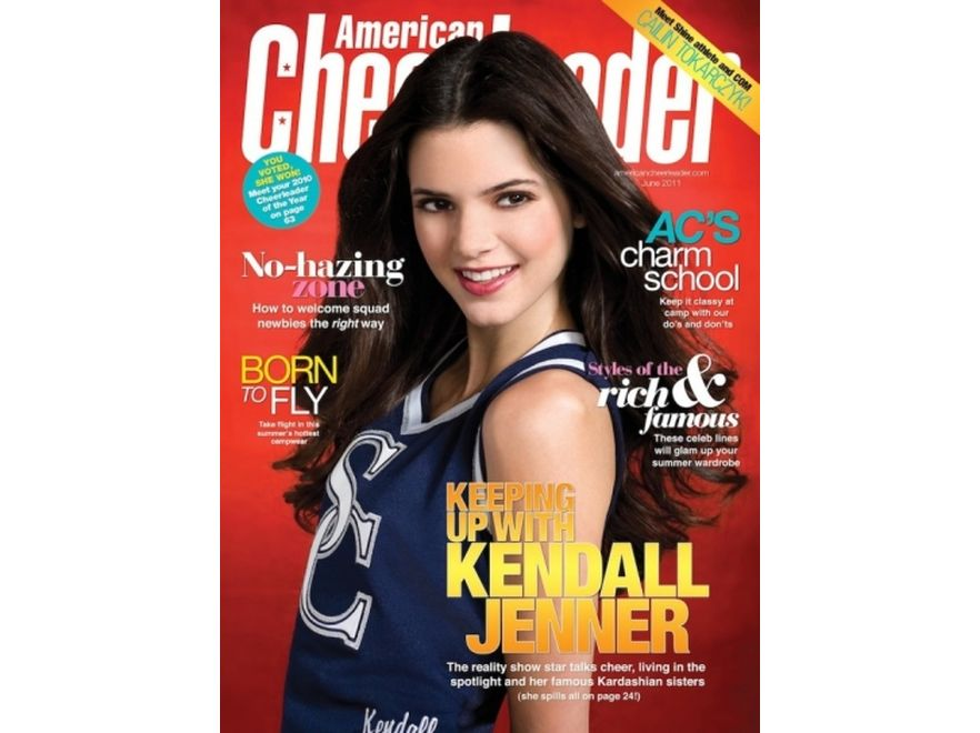 Kendall Jenner na okładce American Cheerleader Magazine