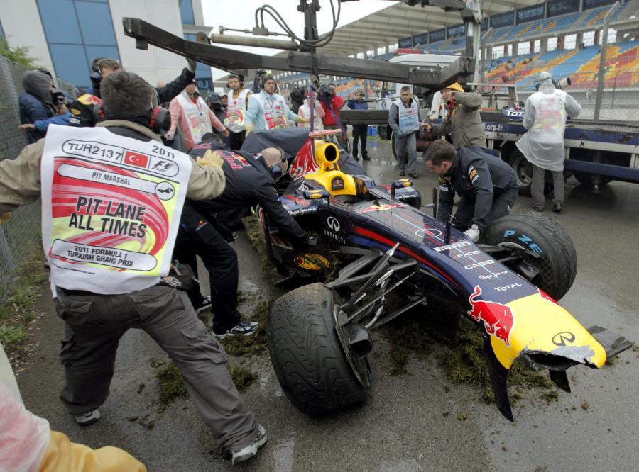 Bolid Sebastiana Vettela