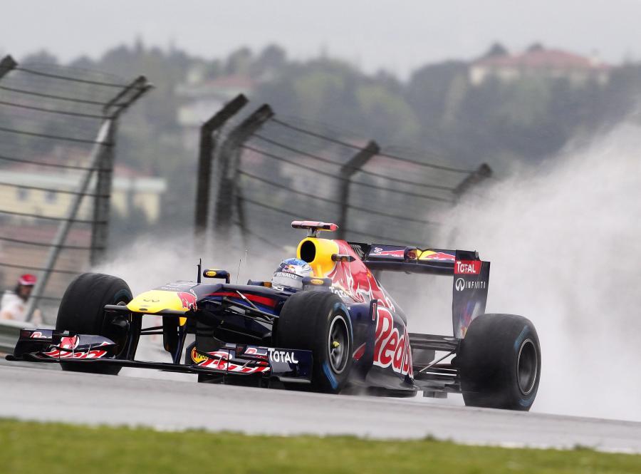 Vettel zostawił w tyle konkurencję