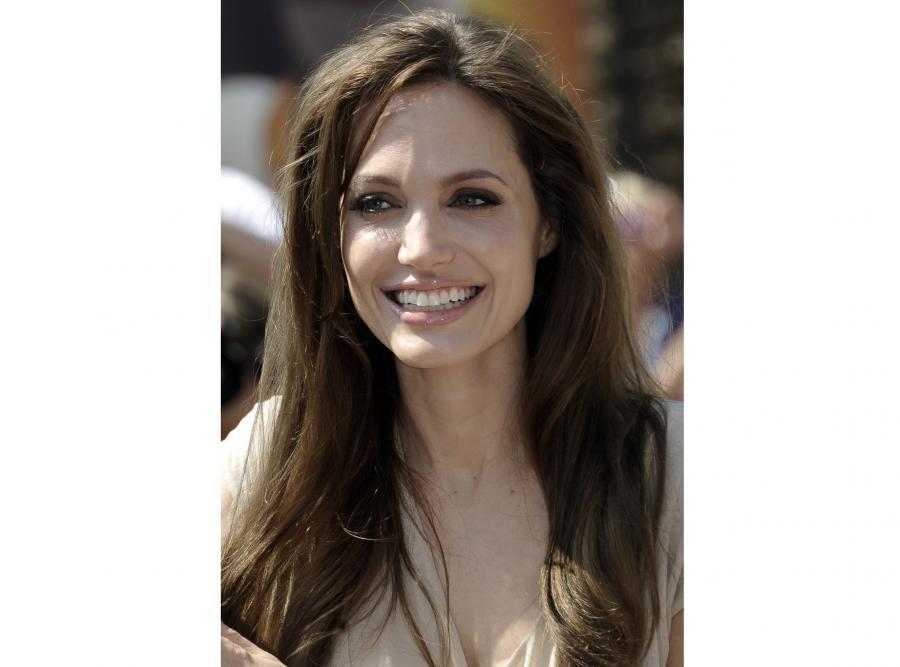 Amerykańska aktorka Angelina Jolie