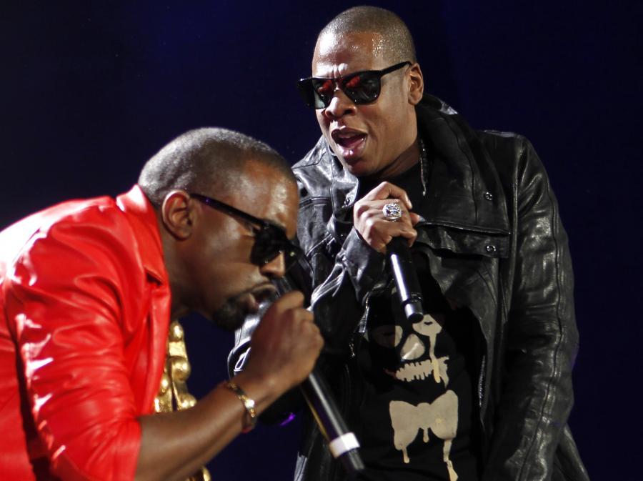 Kanye West i Jay-Z odliczają do poniedziałku