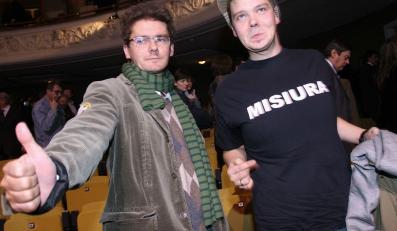 Kuba Wojewódzki i Michał Figurski