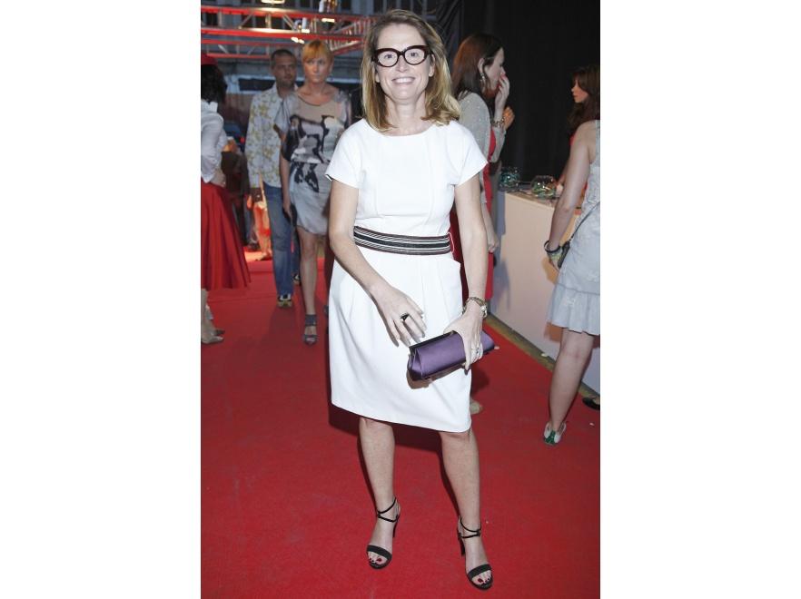 Monika Jaruzelska to znawczyni mody i dobrego stylu - prowadzi własną szkołę stylu.