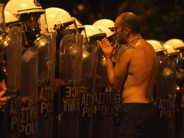 Kolejna odsłona tragedii greckiej