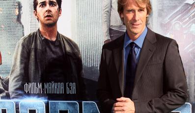 "Michael Bay na premierze ""Transformers 3"""