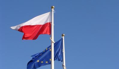 Flagi Polski Unii Europejskiej
