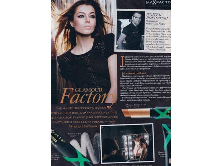 Paulina Papierska w reklamie Max Factor