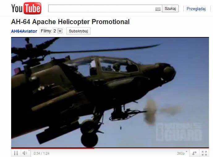 AH-64 Apache - następca śmigłowca szturmowego AH-1 Cobra