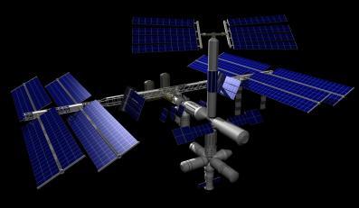 ISS, zdjęcie ilustracyjne