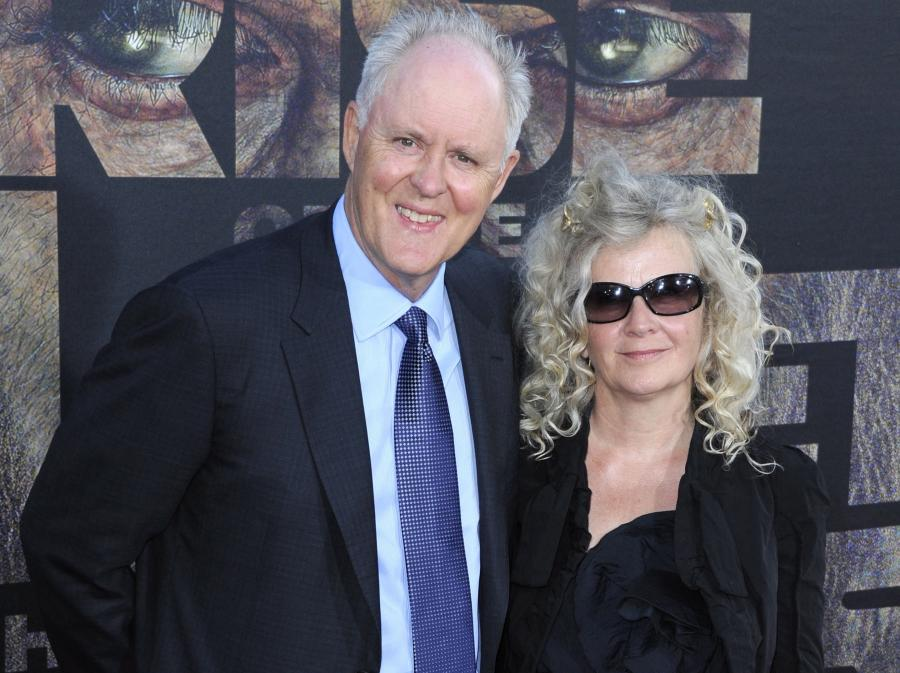 John Lithgow z żoną Mary Yeager